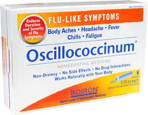 Oscillococcinum helps ward off the flu