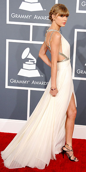 Taylor Swift at the Grammy Awards 2013