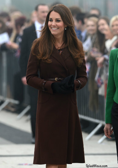 Duchess Kate's baby to be a daughter? - Nadine Jolie Courtney
