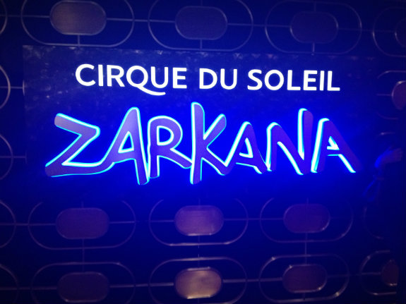 Living the M Life: Cirque du Soleil Zarkana