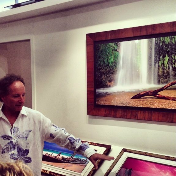 Living the M Life: artist Jeff Mitchum gives us a private tour of his gallery at the Bellagio