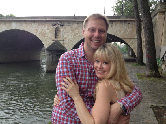 engaged in Paris