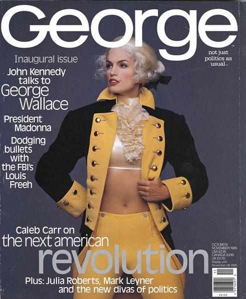 Cindy-Crawford-George-magazine-cover