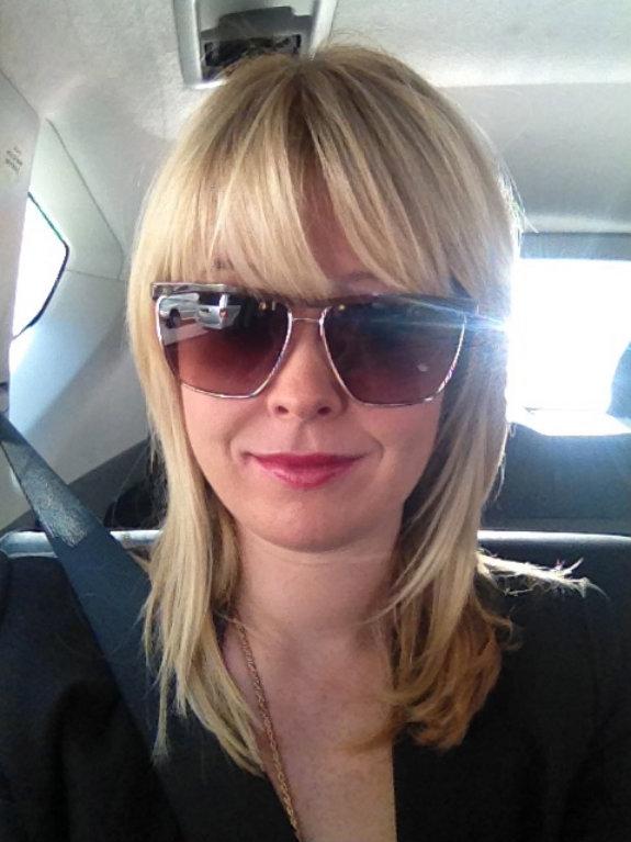 Nadine-Jolie-BCBG-Max-Azria-sunglasses