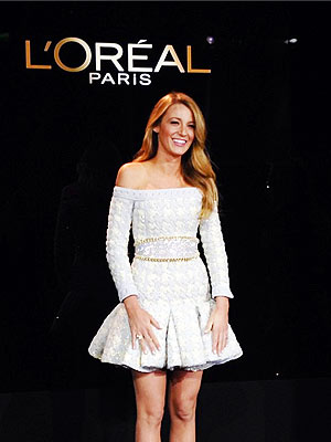Blake-Lively-Loreal-Paris