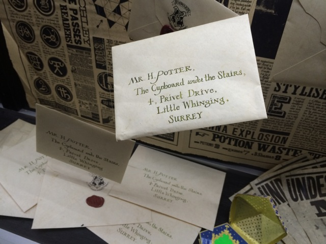 Harry-Potter-London-studio-tour-Little-Whinging-Surrey-letters