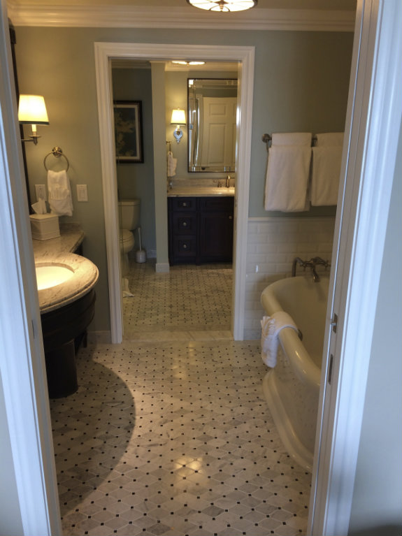 Villas at Disney Grand Floridian bathroom. The Villas at Disney  39 s Grand Floridian Resort and Spa