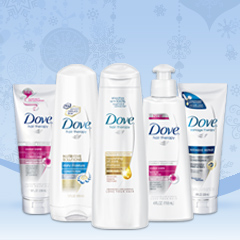 And the winners of the Dove Deck Your Hair for the Holidays Giveaway Are…