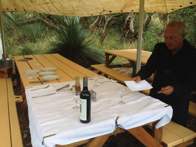 Exceptional Kangaroo Island tours lunch