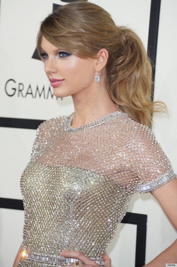 Taylor Swift Grammys 2014 hair