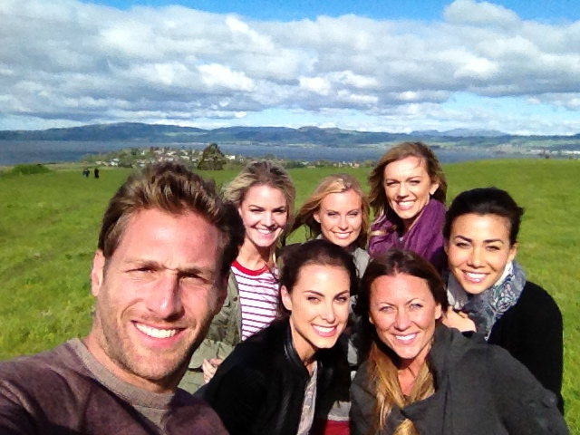 Juan-Pablo from The Bachelor took his women to New Zealand
