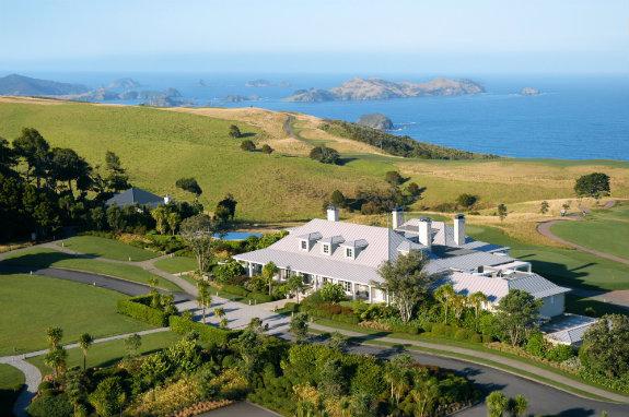 Kauri Cliffs Lodge New Zealand