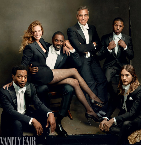 Vanity Fair March 2014 Hollywood Issue cover close-up