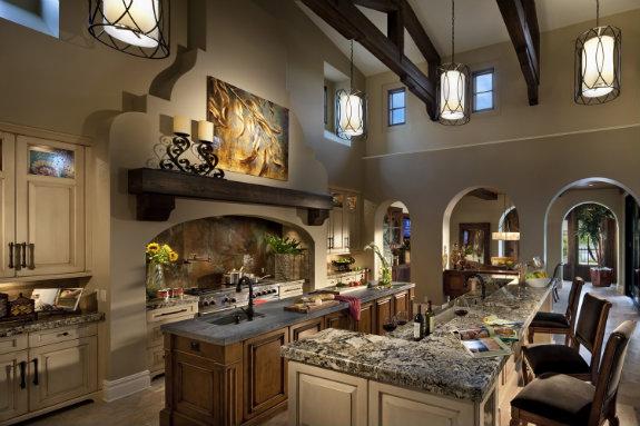 Disney Golden Oak kitchen