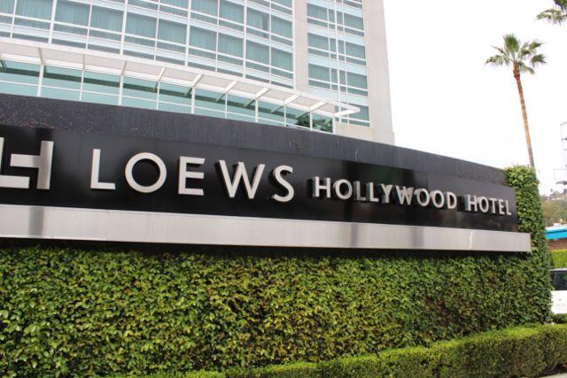 hotel review loews hollywood hotel. Black Bedroom Furniture Sets. Home Design Ideas