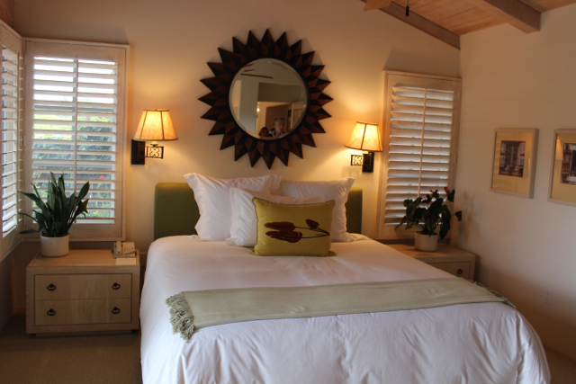 Rancho Valencia The Villas bedroom
