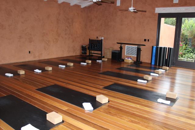 Rancho Valencia Yoga Room