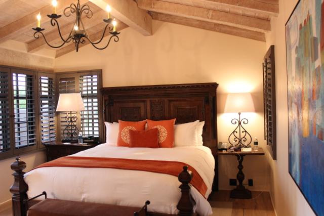 Rancho Valencia bedroom