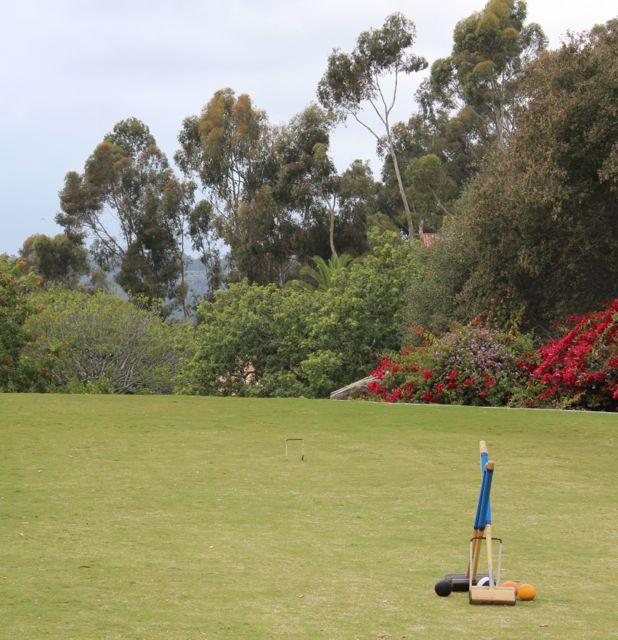 Rancho Valencia croquet