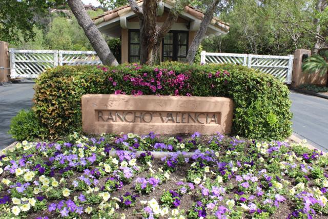 Rancho Valencia entrance