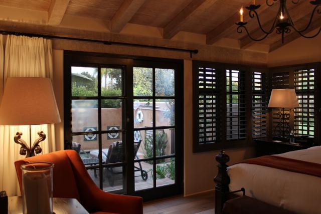 Rancho Valencia living room view