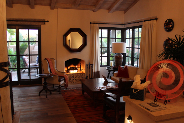 Rancho Valencia living room