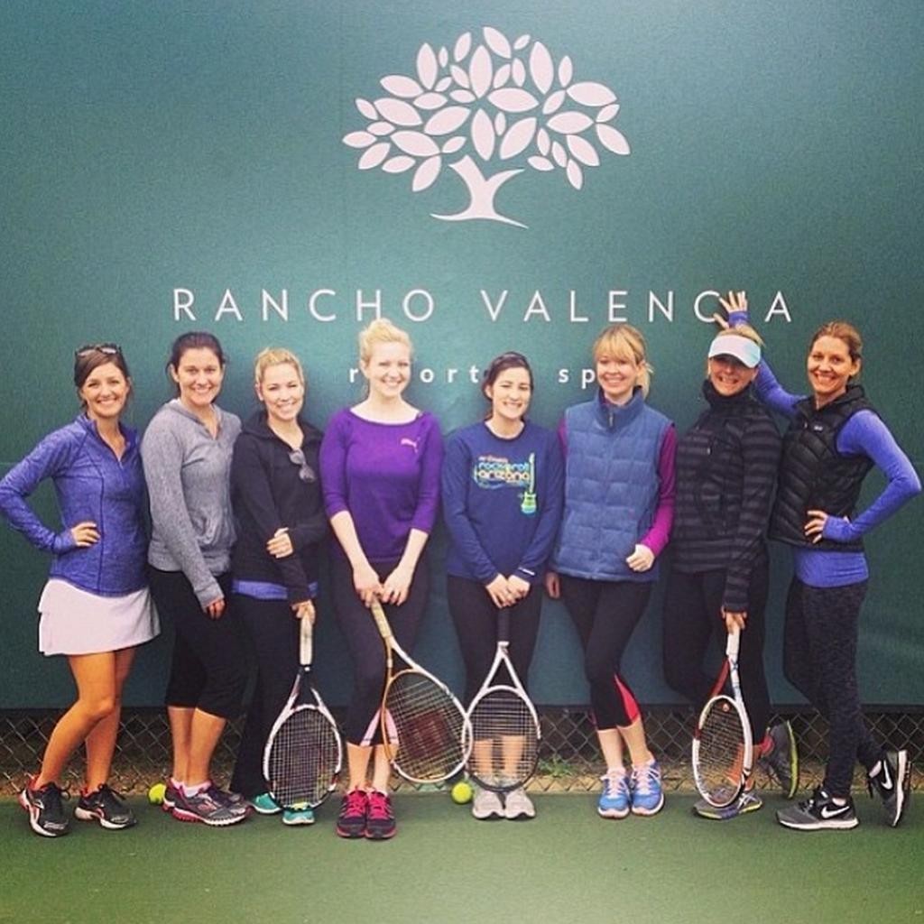 Rancho Valencia tennis