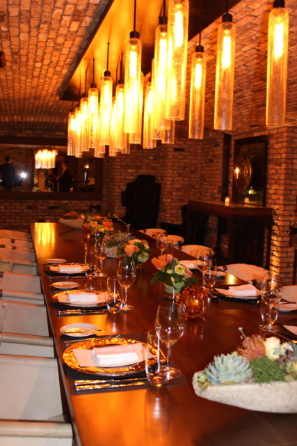 Rancho Valencia wine cellar dinner