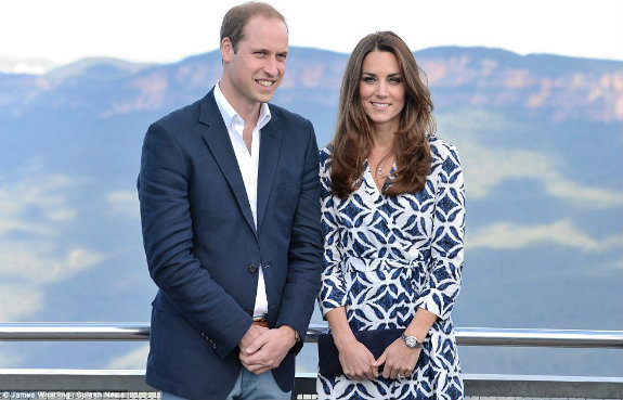 William and Kate Australia Three Sister