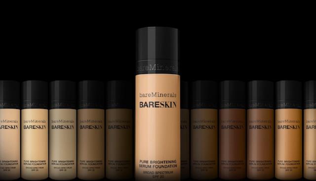bareMinerals Bare Skin liquid foundation