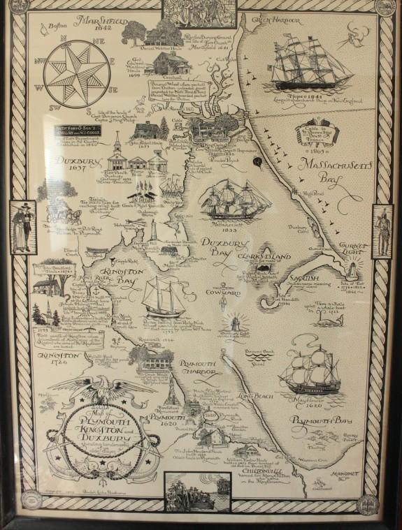 Duxbury map