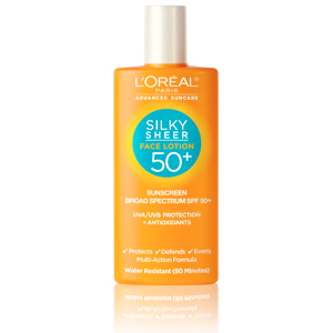 LOreal Paris Silky Sheer Face Lotion SPF 50