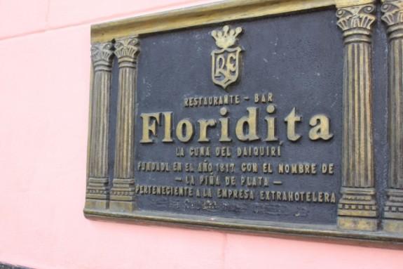Cuba Floridita bar daquiri