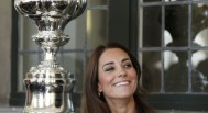 Duchess Kate in Jaegar National Maritime Museum