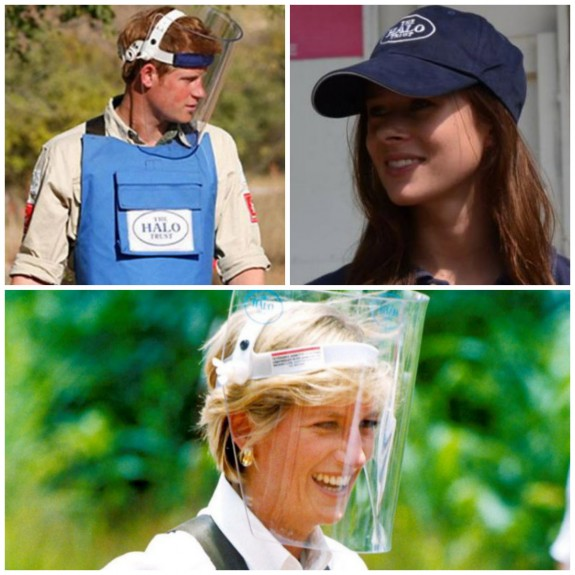 Prince Harry The Halo Trust Camilla Thurlow Princess Diana charity