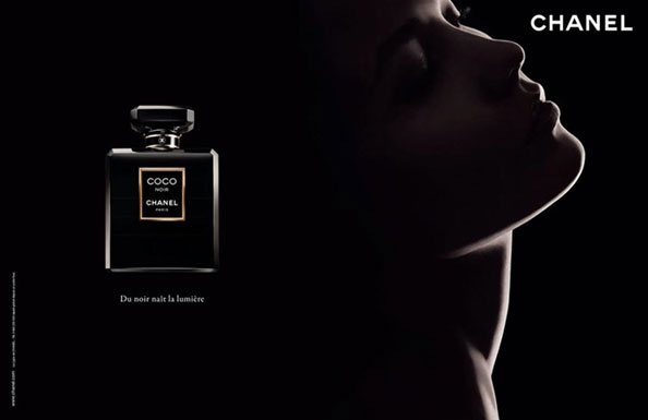 Karlie Kloss Chanel Coco Noir fragrance