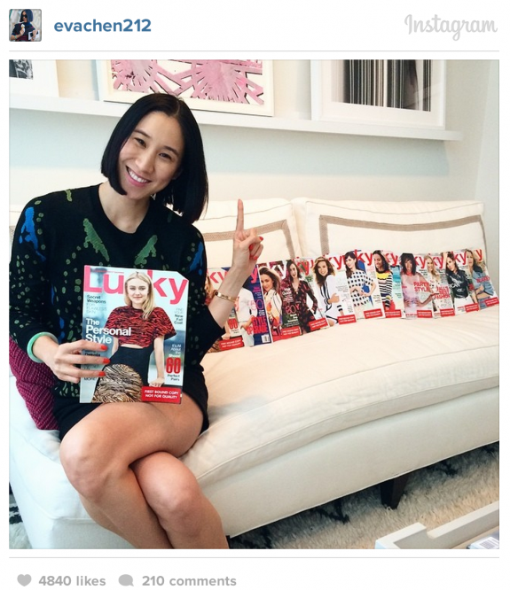 Lucky magazine out at Conde Nast