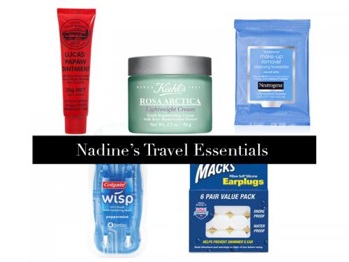 Nadine-Courtney-Travel-Essentials