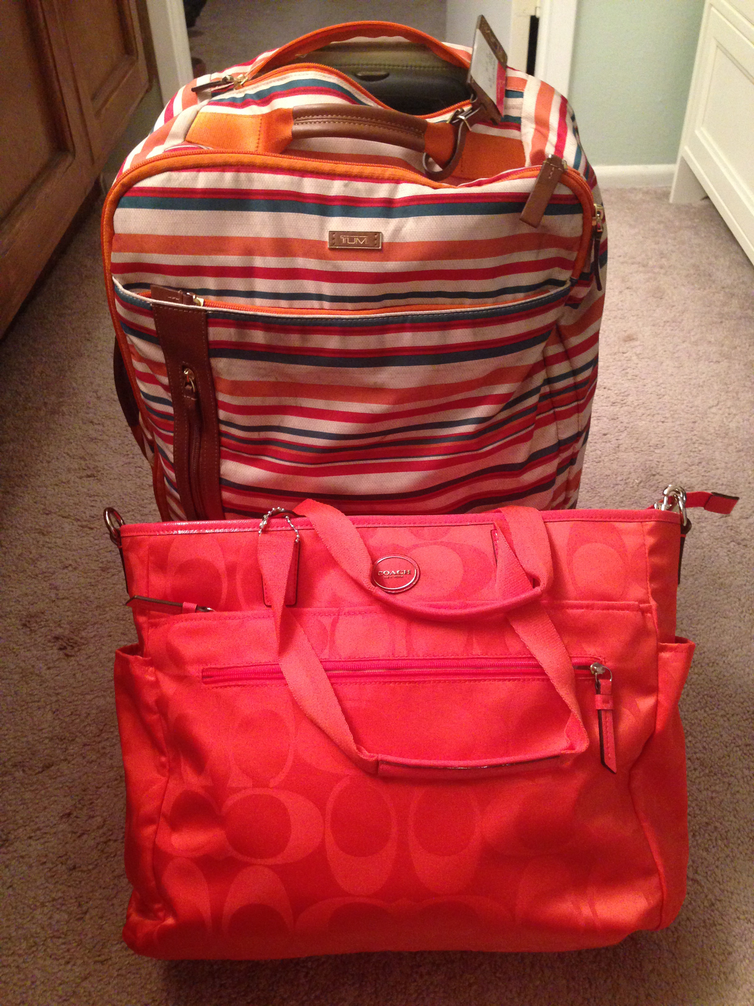 Nadine Jolie Courtney travel bags