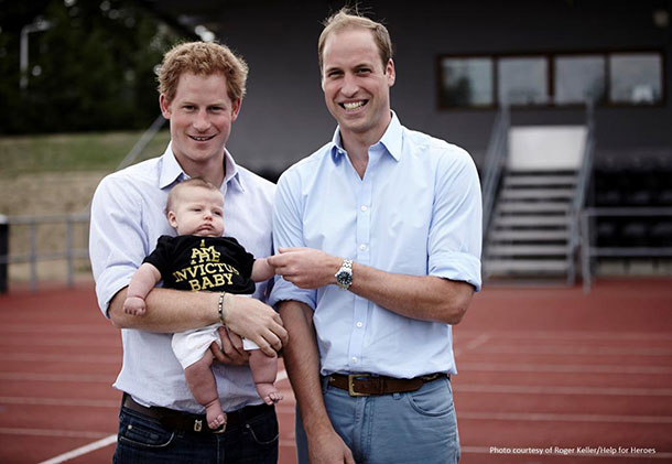 Prince Harry Invictus Games baby