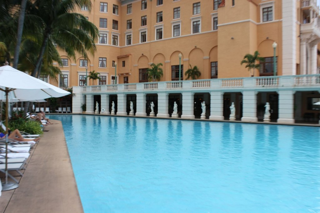 Biltmore Hotel pool Miami