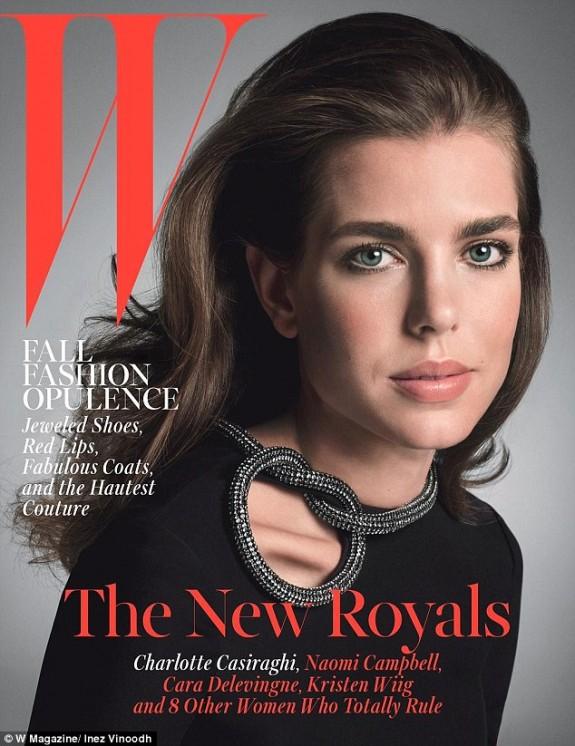 Charlotte Casiraghi W Magazine The New Royals