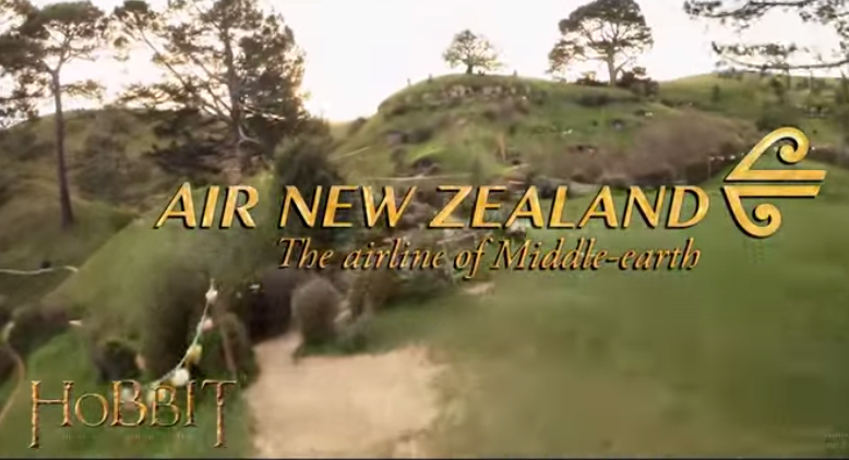 Air New Zealand The Hobbit safety video