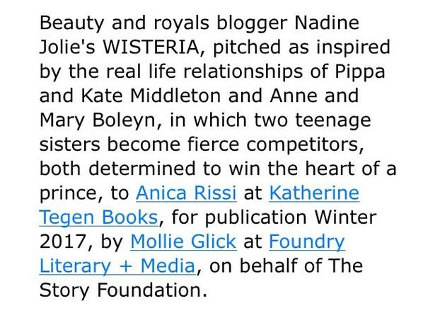 Nadine Jolie Courtney royalty book Romancing the Throne