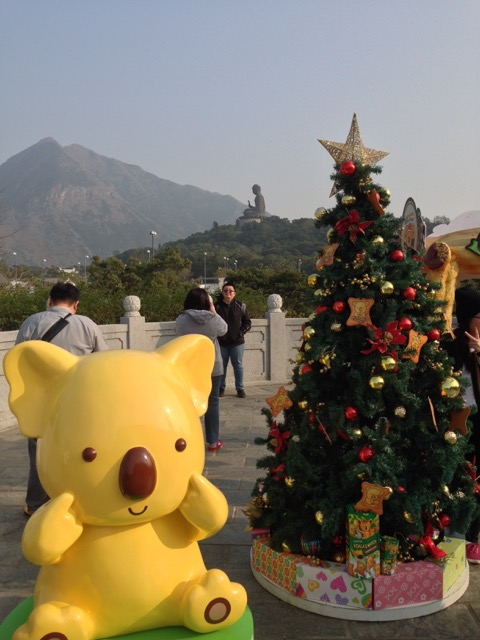 Big Buddha Hong Kong Christmas