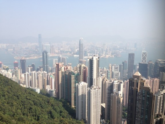 Hong Kong Peak views