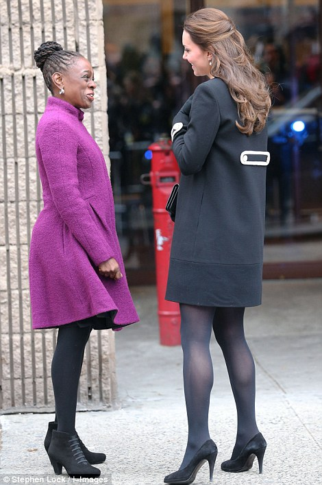 Kate Middleton Chirlane McCray NYC