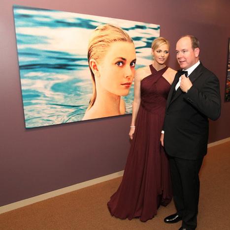 Prince Albert Princess Charlene Princess Grace
