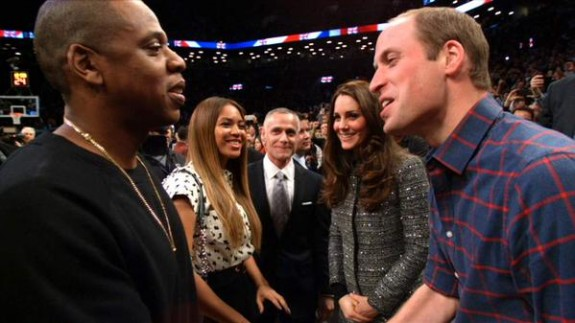 Prince William and Kate Middleton meet Beyonce and Jay Z