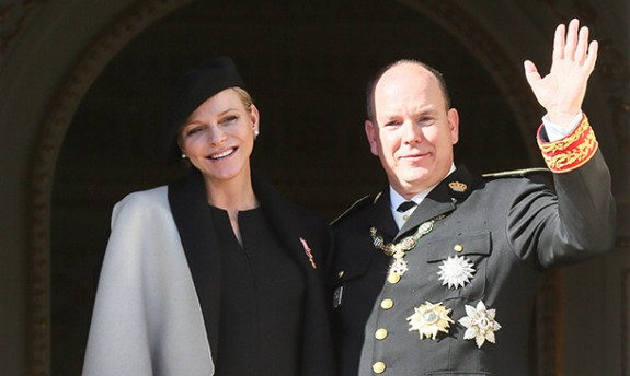 Princess Charlene of Monaco twins
